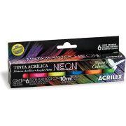 Tinta Acrílica Neon Acrilex