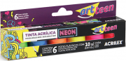 Tinta Acrílica Neon Artteen Acrilex