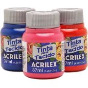 Tinta para Tecido Fosca 35ml Acrilex