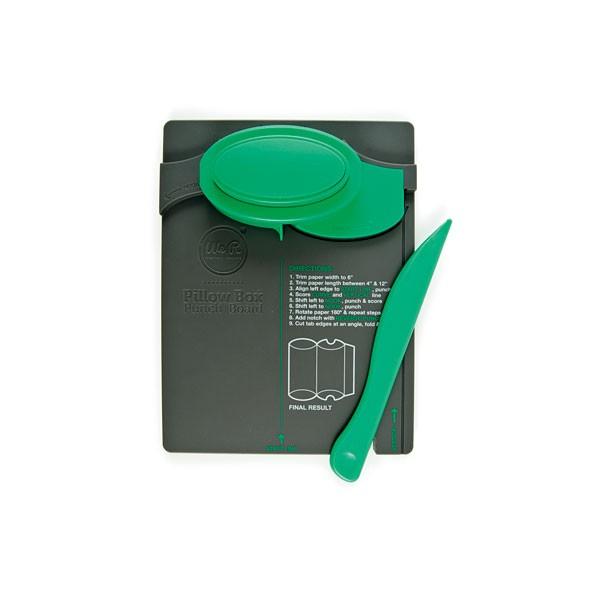 Ferramenta para Corte e Vinco Caixas Almofadadas - Pillow Box Punch Board  - Minas Midias