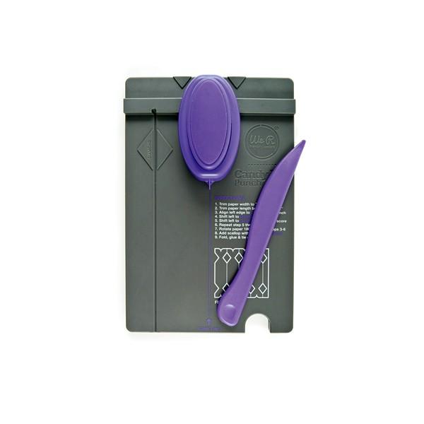 Ferramenta para Corte e Vinco Caixas de Doces WR Candy Box Punch Board  - Minas Midias