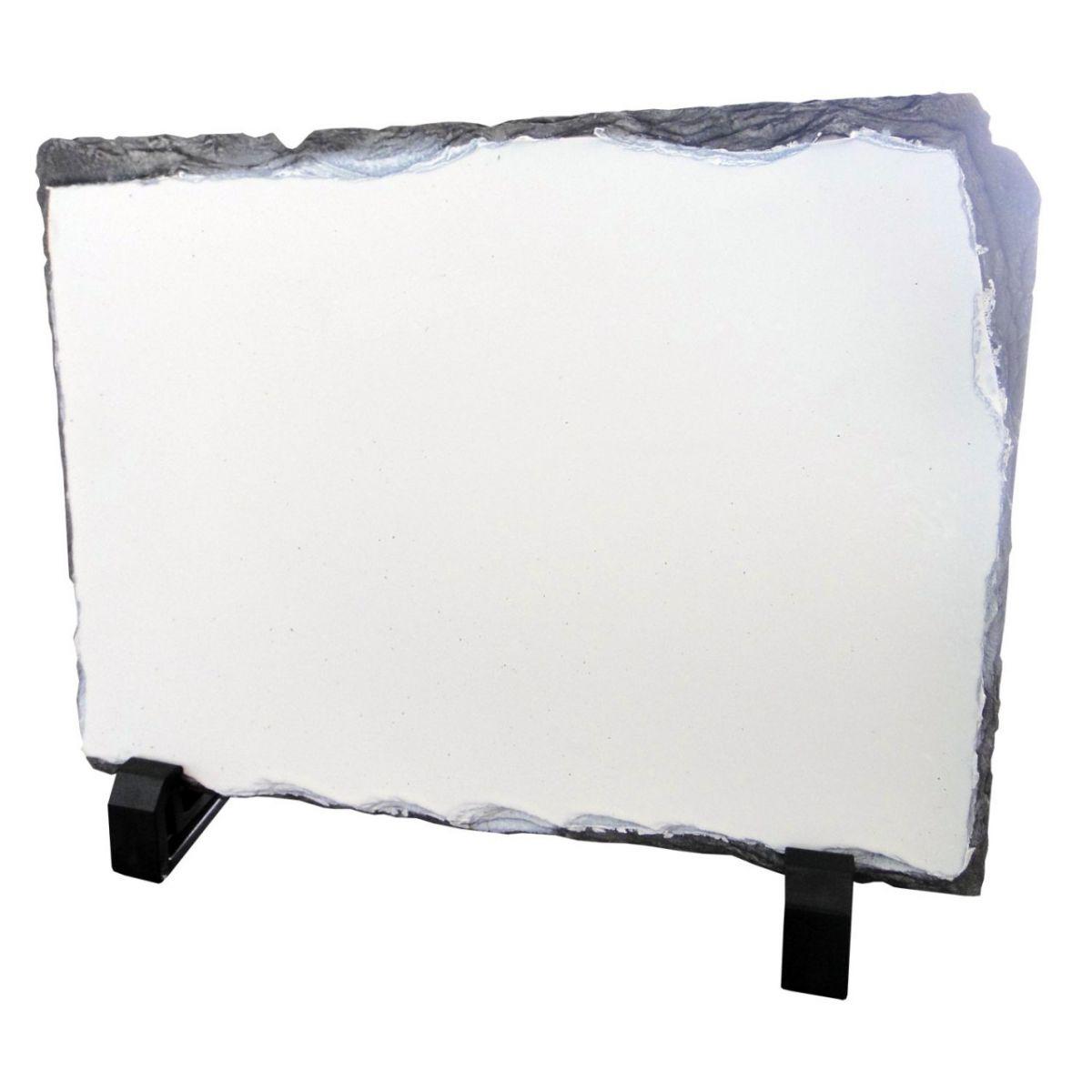 Pedra Sublimática Porta Retrato 15 X 20 X 1,2  - Minas Midias