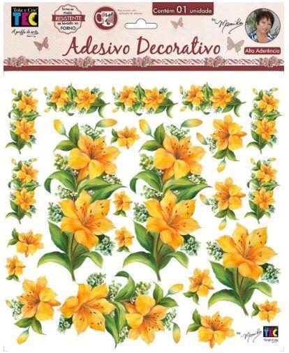 Adesivo Decorativo Lírios by Mamiko  - Minas Midias
