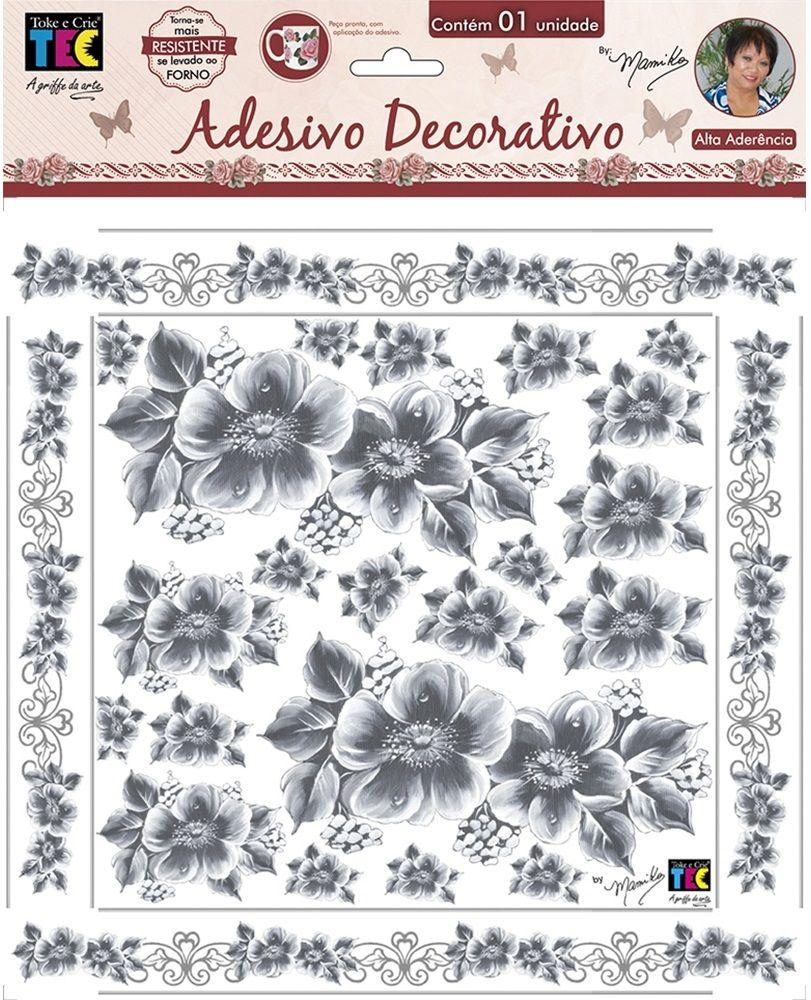 Adesivo Decorativo Papoulas by Mamiko  - Minas Midias