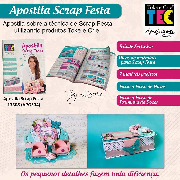 Apostila Scrap Festa by Ivy Larrea  - Minas Midias