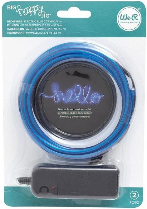 Arame Neon Azul para Ferramenta Big Happy  - Minas Midias