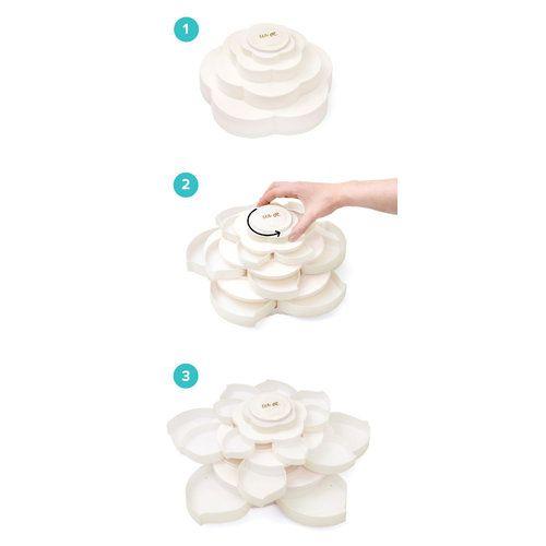 Armazenador de Materiais Bloom Off-White We R   - Minas Midias