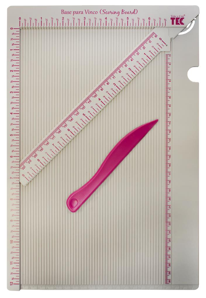 Base para Vinco (Scoring Board) 30,5cm x 20cm  - Minas Midias