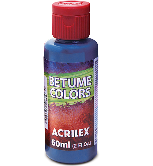 Betume Colors Acrilex 60ml  - Minas Midias