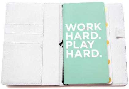 Caderno para Journaling , Lettering e Diário Heidi Swapp - Listrado  - Minas Midias