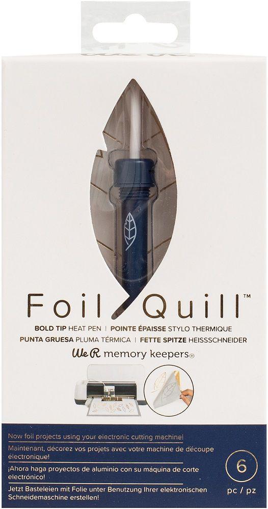 Caneta Transmissora de Foil Ponta Grossa 2,5 mm - Foil Quill Bold Tip Pen WeR  - Minas Midias