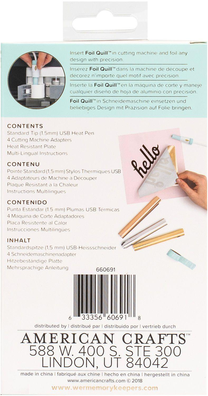 Caneta Transmissora de Foil Ponta Média 1,5 mm - Foil Quill Fine Tip Pen WeR  - Minas Midias