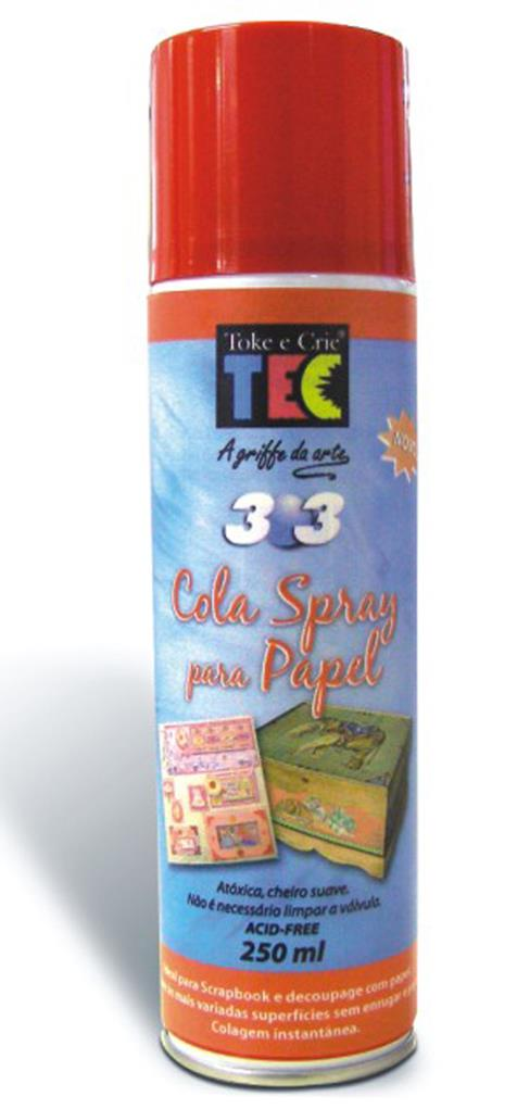 Cola Spray 303 - Papel   - Minas Midias