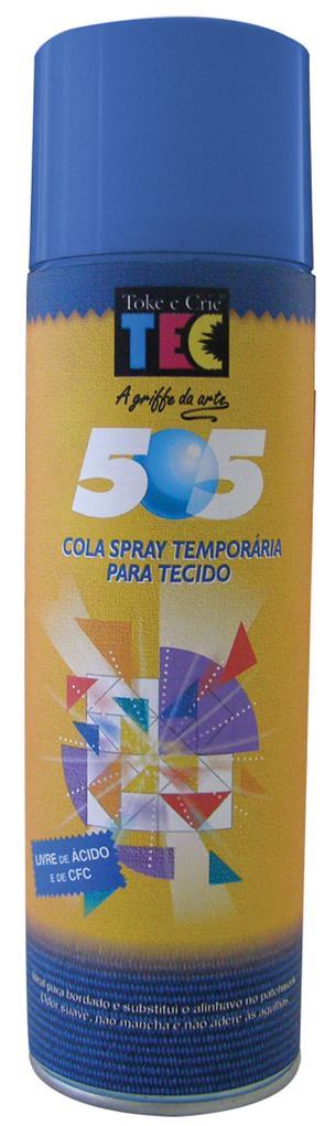 Cola Spray 505 - Temporária para Tecido  - Minas Midias