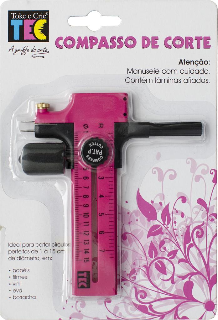 Compasso de Corte Circular DI006  - Minas Midias