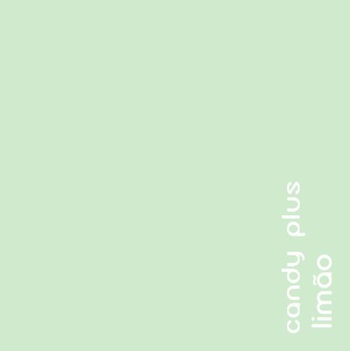Papel Candy Plus 180g 30,5 X 30,5 cm Limão - verde claro  - Minas Midias