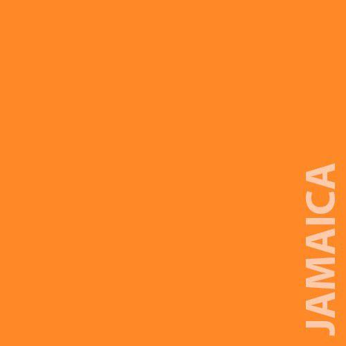 Papel Color Plus 180g 30,5 X 30,5 cm Jamaica - Laranja Gema  - Minas Midias