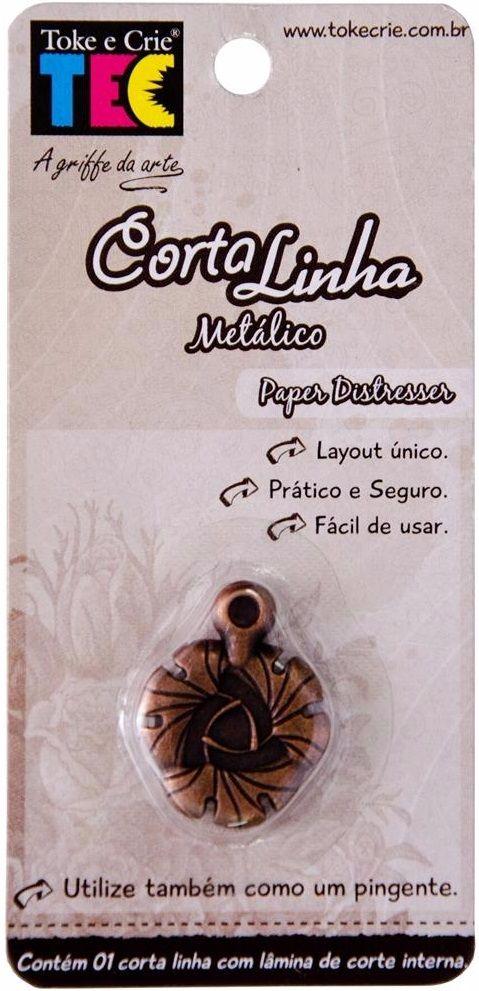 Corta Linha Metálico / Paper Distresser  - Minas Midias