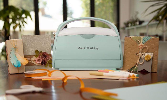 Cricut Cuttlebug Mint Machine - Máquina de Corte e Relevo  - Minas Midias