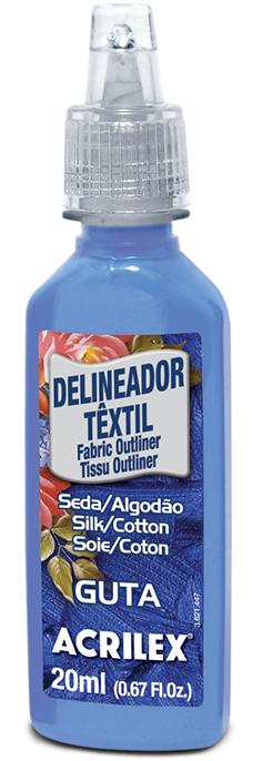 Delineador Têxtil Incolor 20ml  - Minas Midias