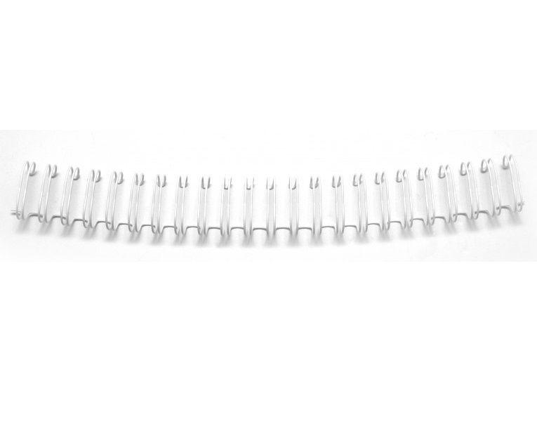 Espiral para Encadernação Branco 0,75 in  - Minas Midias