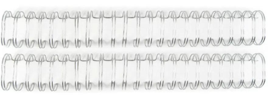Wire-o - Espiral para Encadernação Prata - The Cinch Wire Binders  - Minas Midias