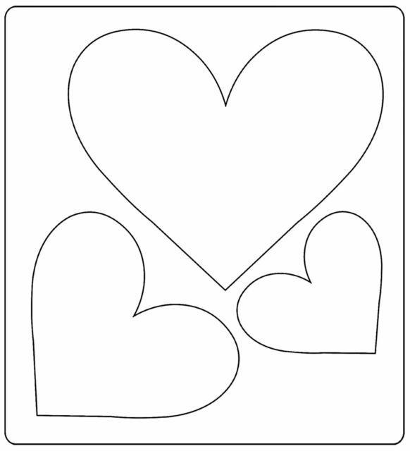 Faca de Corte Sizzix Bigz Die - Heart Trio - 3 Corações  - Minas Midias