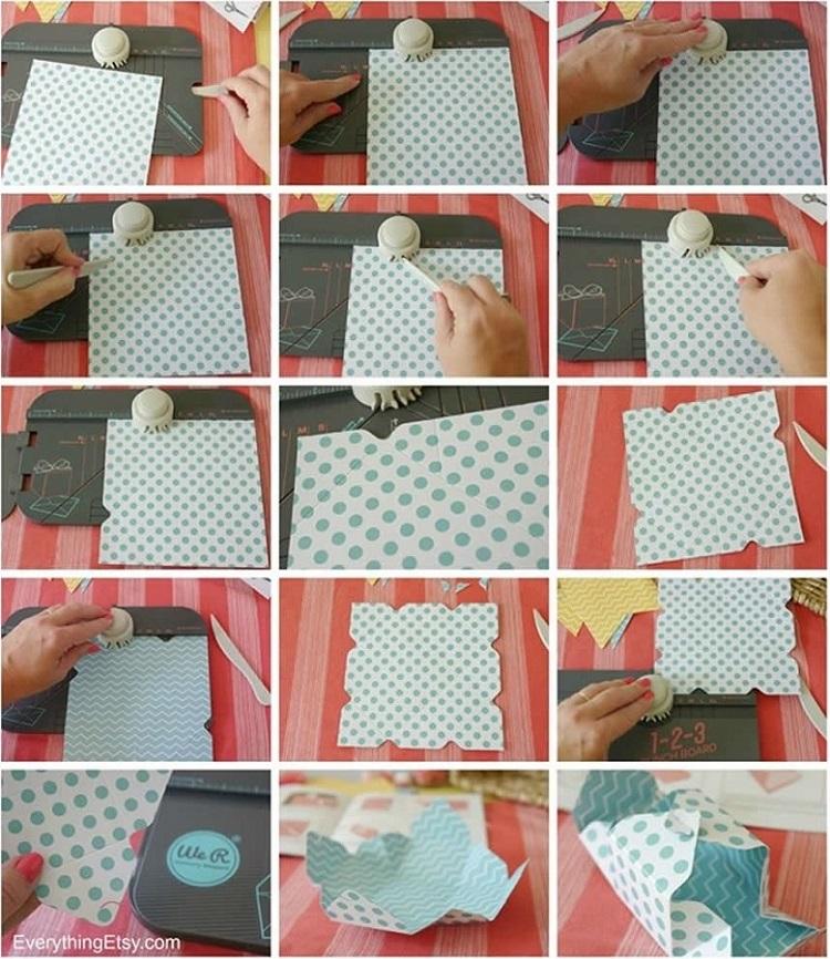 Ferramenta de Corte e Vinco – 1-2-3 Punch Board Envelopes, Caixas e Laços  - Minas Midias