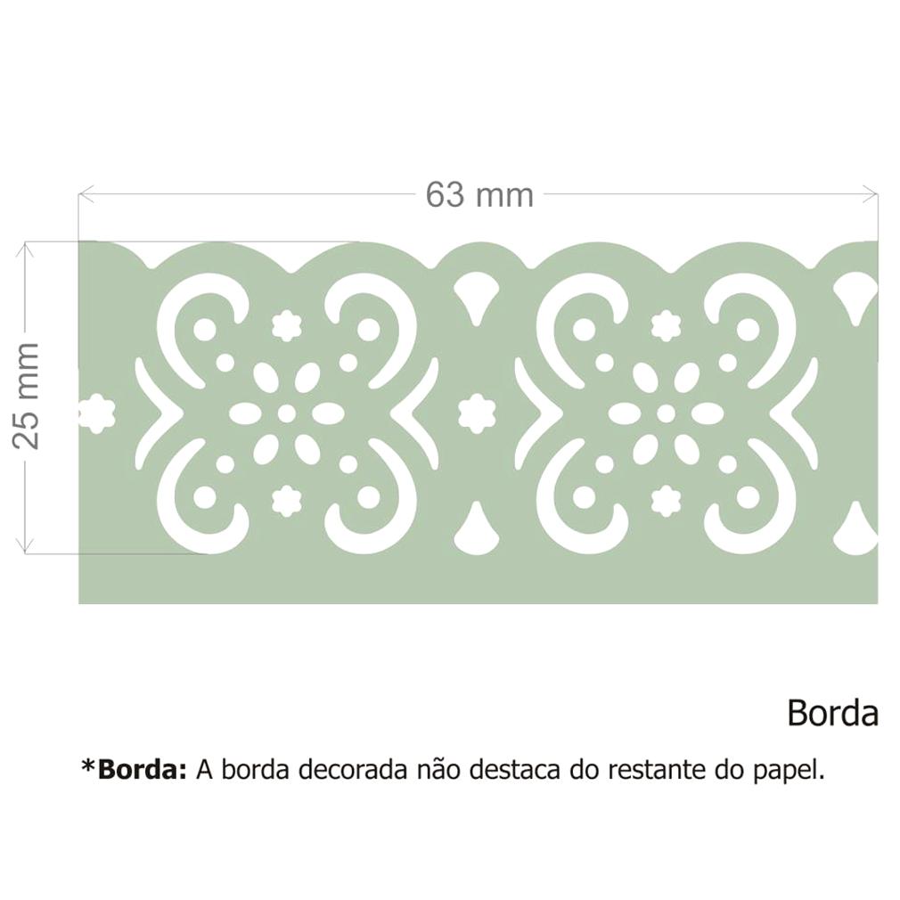 Furador Borda Max Alavanca Flor Clássica  - Minas Midias