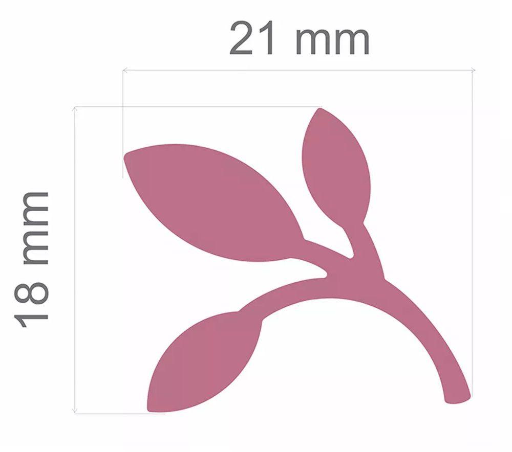 Furador Jumbo Alavanca Papel Galho 21mm  - Minas Midias