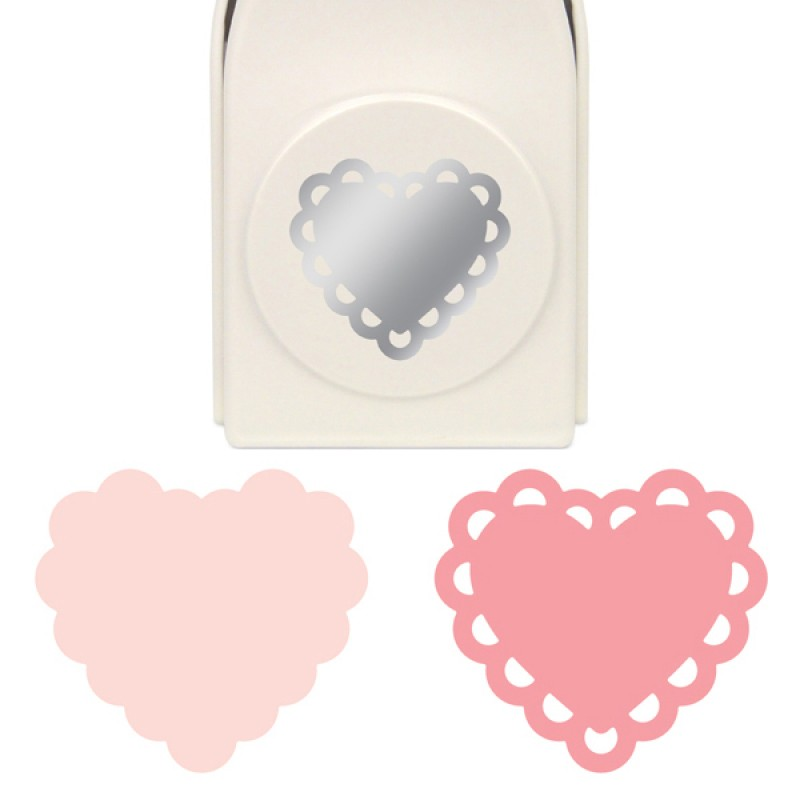 Furador de Camada Coração - Deco Heart Layering Punch  - Minas Midias