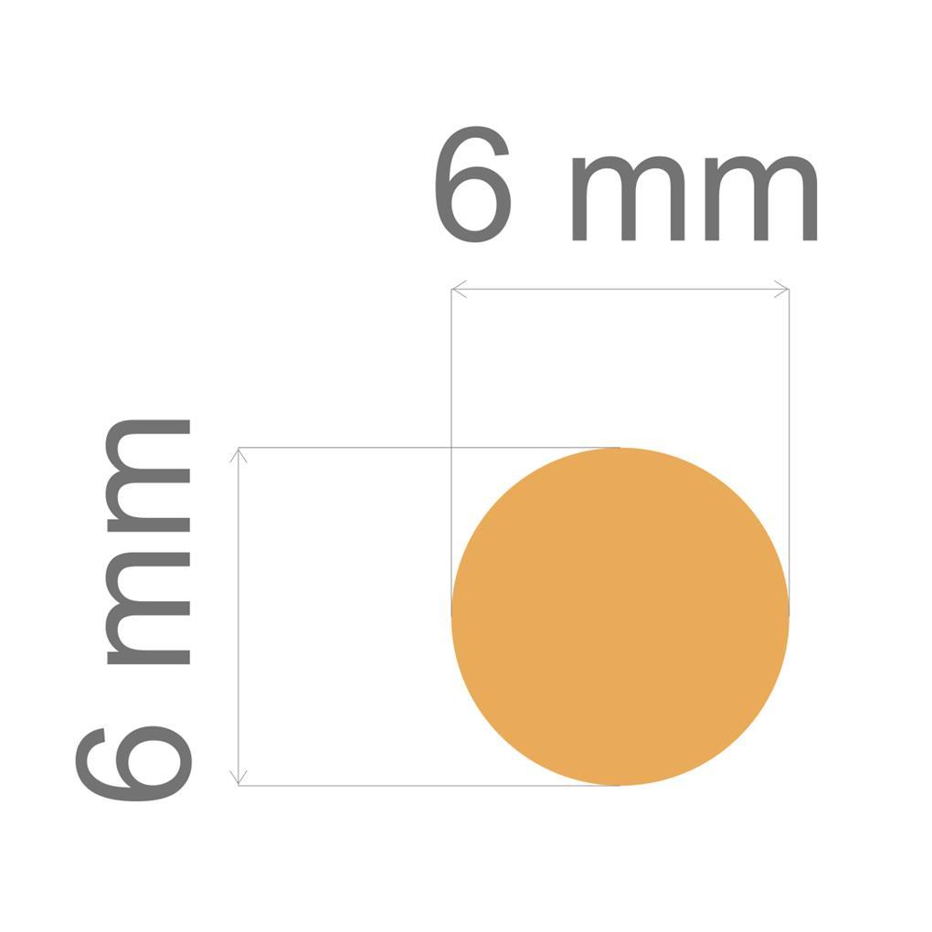 Furador Mini Alavanca (EVA) Circulo 1/4  - Minas Midias