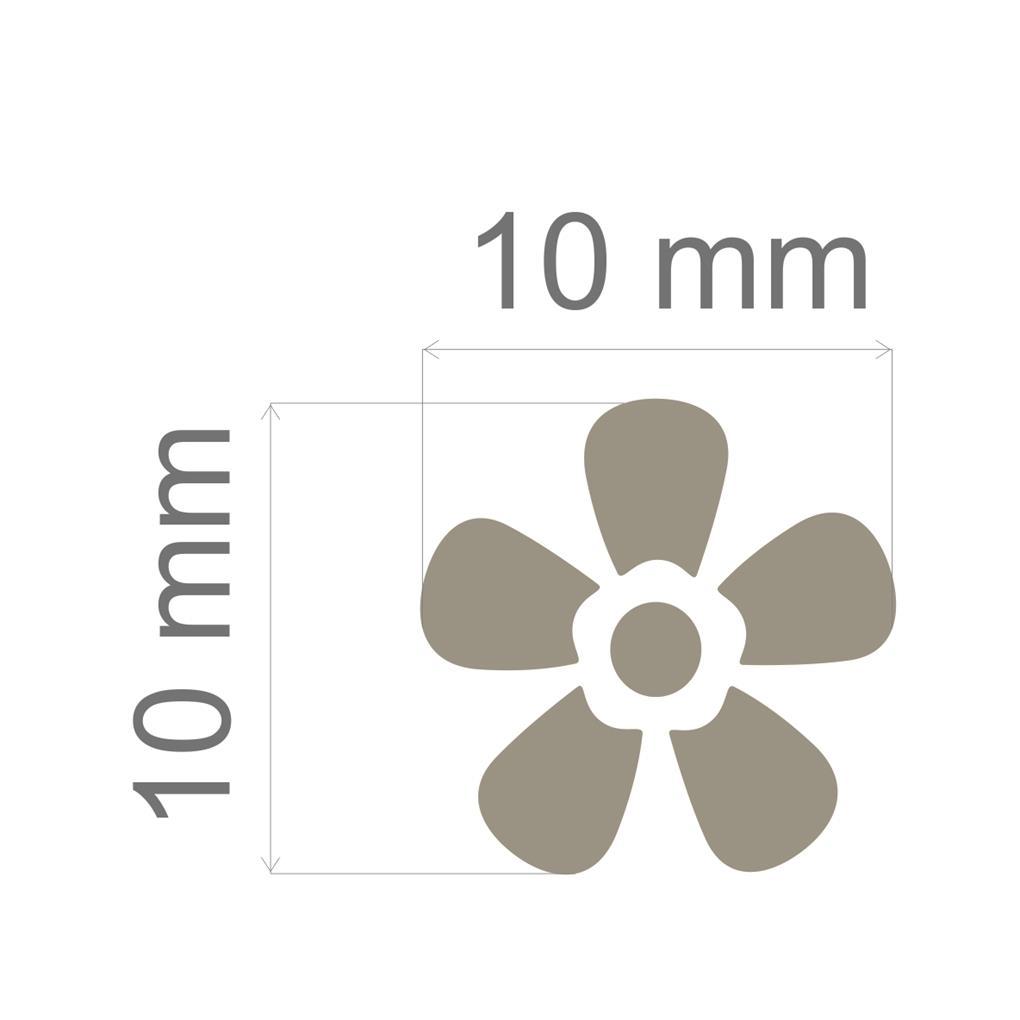 Furador Mini Alavanca (Papel) Flor  - Minas Midias