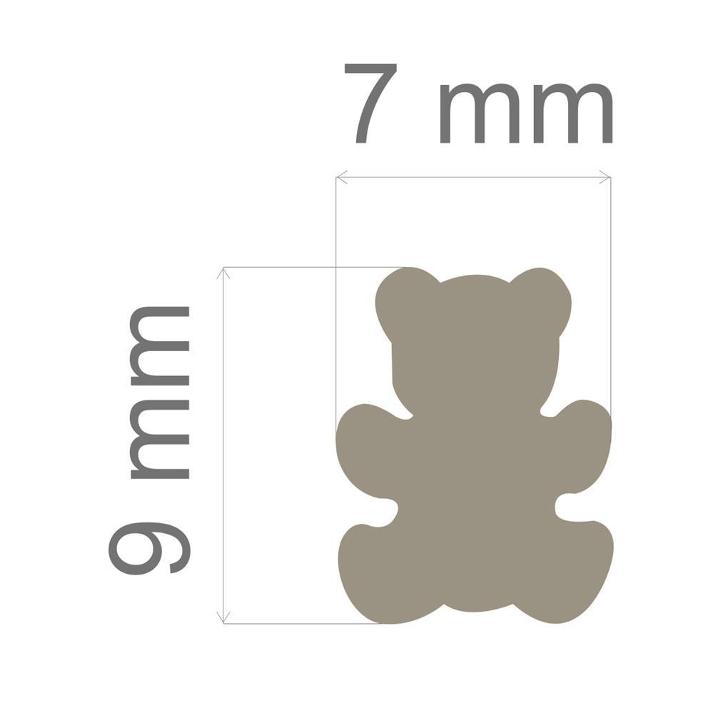Furador Mini Alavanca (Papel) Urso  - Minas Midias