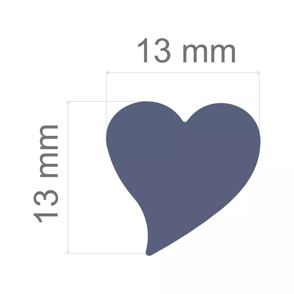 Furador Regular Alavanca (Papel) Coração  - Minas Midias
