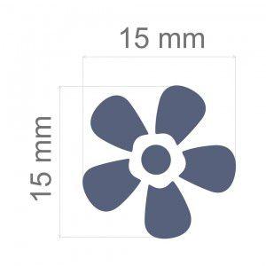 Furador Regular Alavanca (Papel) Flor  - Minas Midias