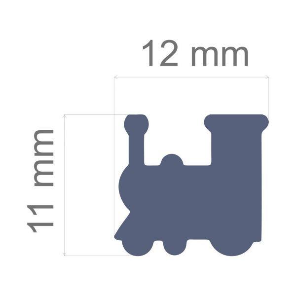 Furador Regular Alavanca (Papel) Trem  - Minas Midias