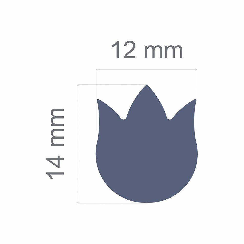 Furador Regular Alavanca (Papel) Tulipa  - Minas Midias