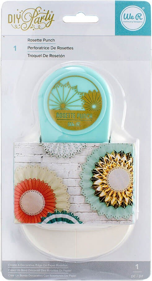 Furador Roseta - Diy Party Rosette Punch  - Minas Midias