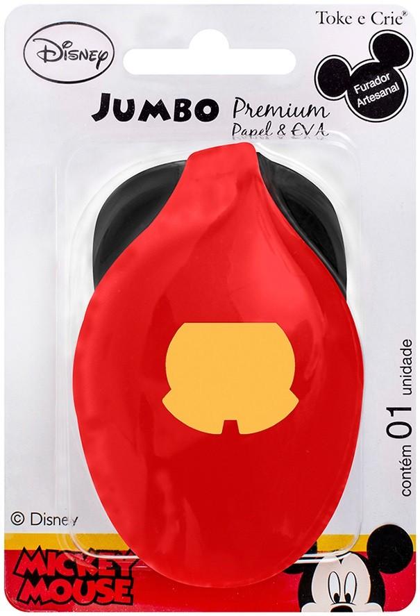 Furador Jumbo Premium Disney Shorts Mickey Mouse  - Minas Midias