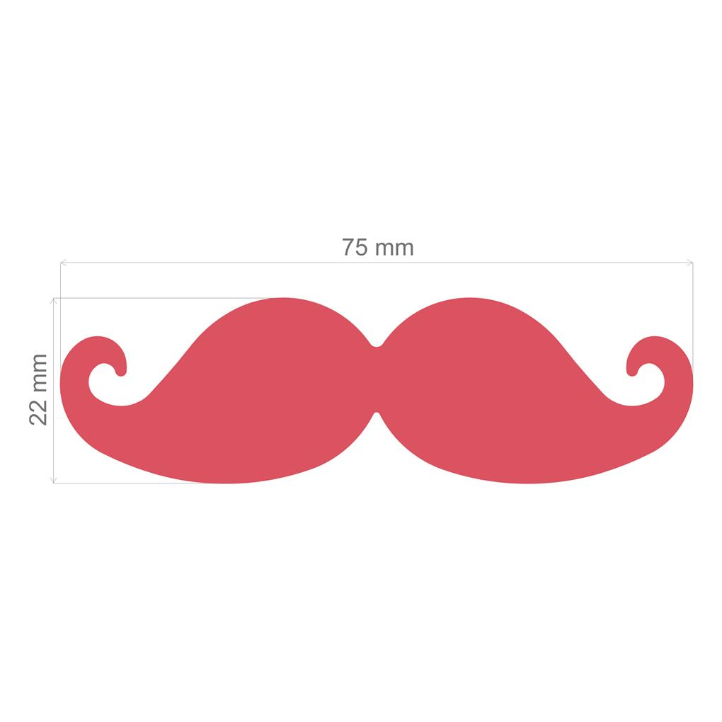 """Furador Max Alavanca 3"""" Mustache - Bigode  - Minas Midias"""