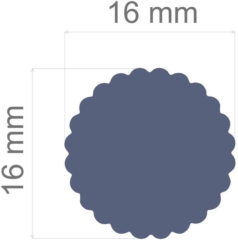 Furador Regular Alavanca (Papel) Circulo Escalope  - Minas Midias