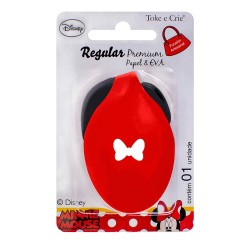 Furador Regular Premium Disney Laço Minnie Mouse  - Minas Midias