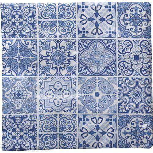 Guardanapo para Decoupage - Azulejos Azuis  - Minas Midias