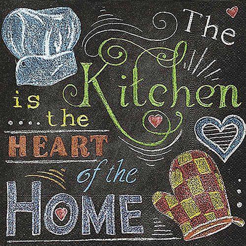 Guardanapo para Decoupage - Cozinha do Chefe  - Minas Midias