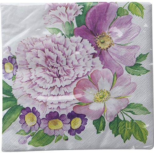 Guardanapo para Decoupage - Flor de Cravo  - Minas Midias