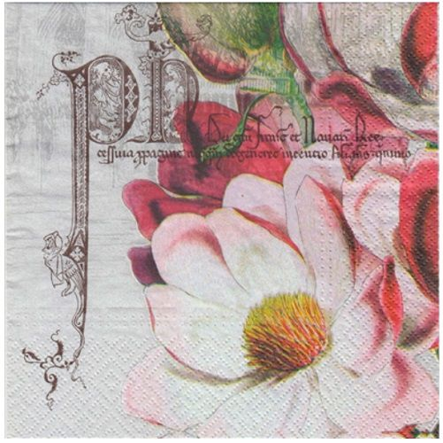 Guardanapo para Decoupage - Flor Magnífica  - Minas Midias