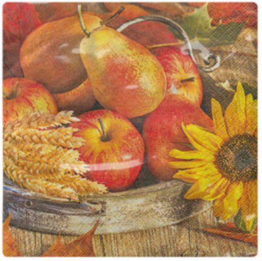 Guardanapo para Decoupage - Frutas à Mesa  - Minas Midias