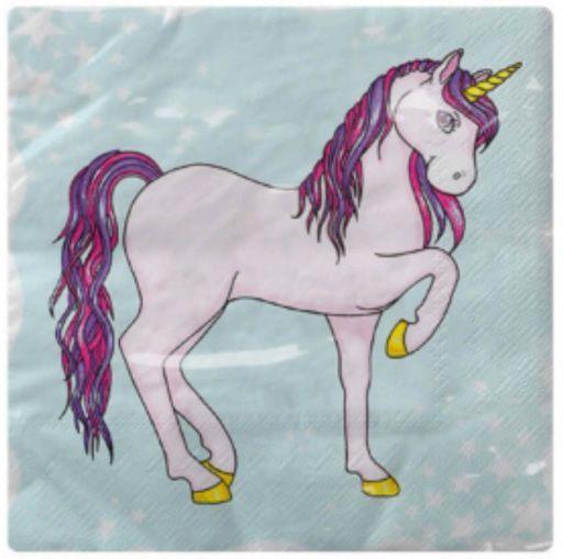 Guardanapo para Decoupage - Unicornio  - Minas Midias