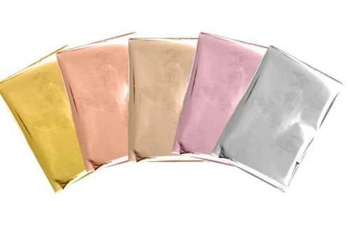 Kit Folhas de Foil Coloridas 10x15cm (Shining Starling Foil Sheets)   - Minas Midias